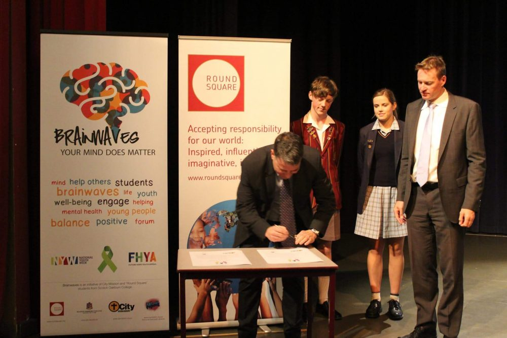Recognising the partnership: City Mission and Scotch Oakburn College