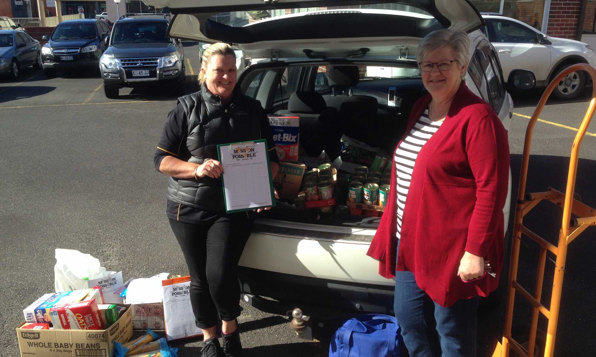 Food Donations With Gail Nwc